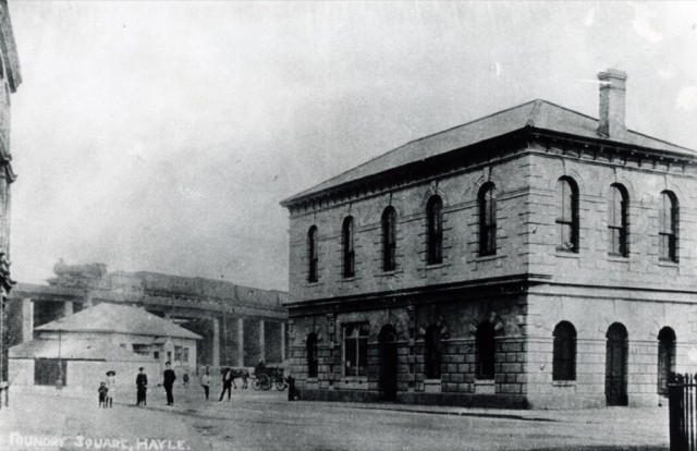 Old Station in Foundry Square , Hayle